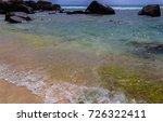 anse nord d'est beach. mahe... | Shutterstock . vector #726322411