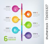 six steps infographics   can... | Shutterstock .eps vector #726331327