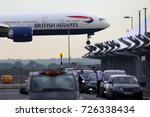 heathrow  london  united... | Shutterstock . vector #726338434