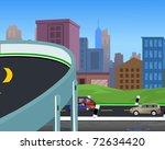 flyover | Shutterstock . vector #72634420
