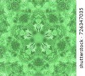 watercolor mandala. decor for... | Shutterstock . vector #726347035