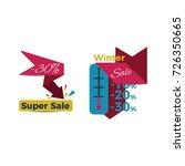 sale creative badges set....   Shutterstock .eps vector #726350665