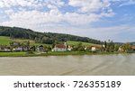 view from the danube of the... | Shutterstock . vector #726355189