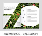 abstract vector layout... | Shutterstock .eps vector #726363634