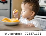 beautiful baby boy in the... | Shutterstock . vector #726371131