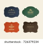 set of vintage label. premium... | Shutterstock .eps vector #726379234