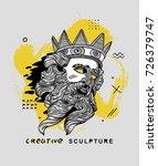 creative modern classical... | Shutterstock .eps vector #726379747