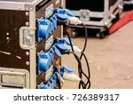 stage portable device for power ... | Shutterstock . vector #726389317