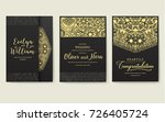 set of flyer pages ornamental...   Shutterstock .eps vector #726405724