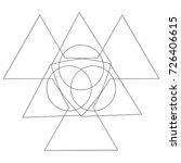 festive geometric pattern for... | Shutterstock .eps vector #726406615