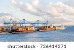 las palmas de gran canaria ... | Shutterstock . vector #726414271