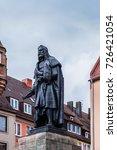 albrecht durer monument  1828 ... | Shutterstock . vector #726421054