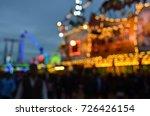 oktoberfest in munich  blurred...   Shutterstock . vector #726426154
