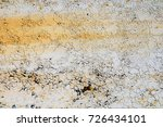 old rusted metal panel | Shutterstock . vector #726434101