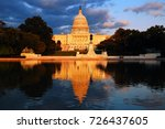 the late afternoon light glows... | Shutterstock . vector #726437605