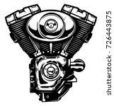 monochrome illustration of...   Shutterstock .eps vector #726443875