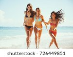 beautiful young women having... | Shutterstock . vector #726449851