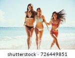 beautiful young women having... | Shutterstock . vector #726449851
