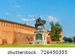 equestrian monument to dmitry... | Shutterstock . vector #726450355