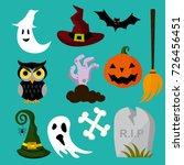 vector illustration of a... | Shutterstock .eps vector #726456451