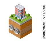 city underground urban...   Shutterstock .eps vector #726470581