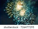 Image Of Blur Fireworks...