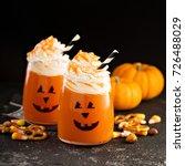 Halloween Cold Pumpkin Cocktai...