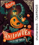 halloween poster design  a kid