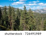 yosemite national park in the... | Shutterstock . vector #726491989