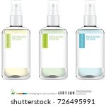 spray bottle skincare.... | Shutterstock .eps vector #726495991
