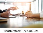 business people and lawyers... | Shutterstock . vector #726503221