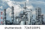 oil and gas industrial oil... | Shutterstock . vector #726510091