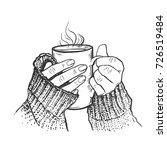 vector hand drawn sketch of... | Shutterstock .eps vector #726519484