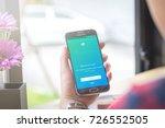 chiang mai  thailand   october... | Shutterstock . vector #726552505