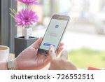chiang mai  thailand   october... | Shutterstock . vector #726552511