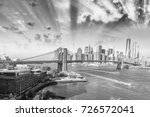 stunning panoramic view of new... | Shutterstock . vector #726572041