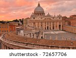 Saint Peters Square And...