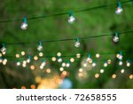 hanging decorative christmas... | Shutterstock . vector #72658555