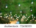 hanging decorative christmas... | Shutterstock . vector #72658555