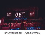 odessa  ukraine august 20  2014 ... | Shutterstock . vector #726589987
