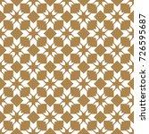 seamless geometric background.... | Shutterstock .eps vector #726595687