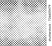 black and white round spots... | Shutterstock . vector #726605479
