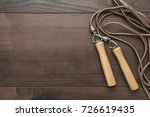 skipping rope for an exercise... | Shutterstock . vector #726619435