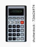 Old Pocket Calculator  Close...