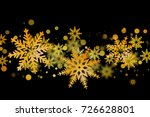 merry christmas and happy new... | Shutterstock . vector #726628801