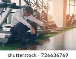 businessman busy or failure... | Shutterstock . vector #726636769