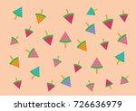 ice cream watermelon | Shutterstock . vector #726636979