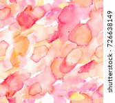 watercolor seamless sample with ... | Shutterstock . vector #726638149