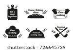 lets cook together  love... | Shutterstock .eps vector #726645739