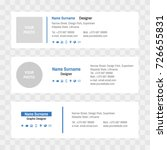 email signatures | Shutterstock .eps vector #726655831